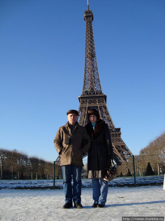 Париж. Эйфелева башня.