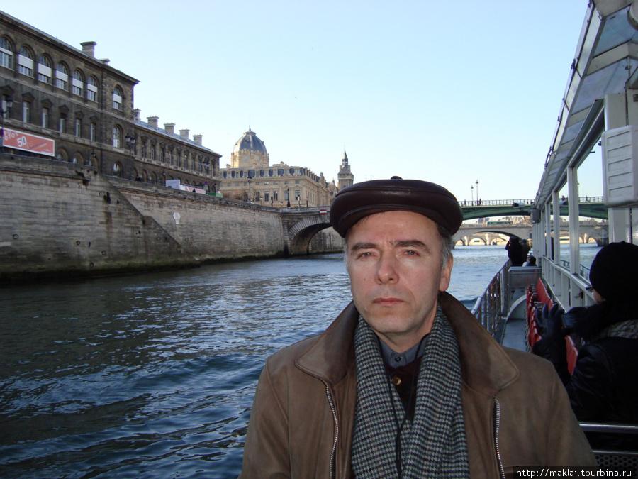 Париж. Вид с палубы кораб