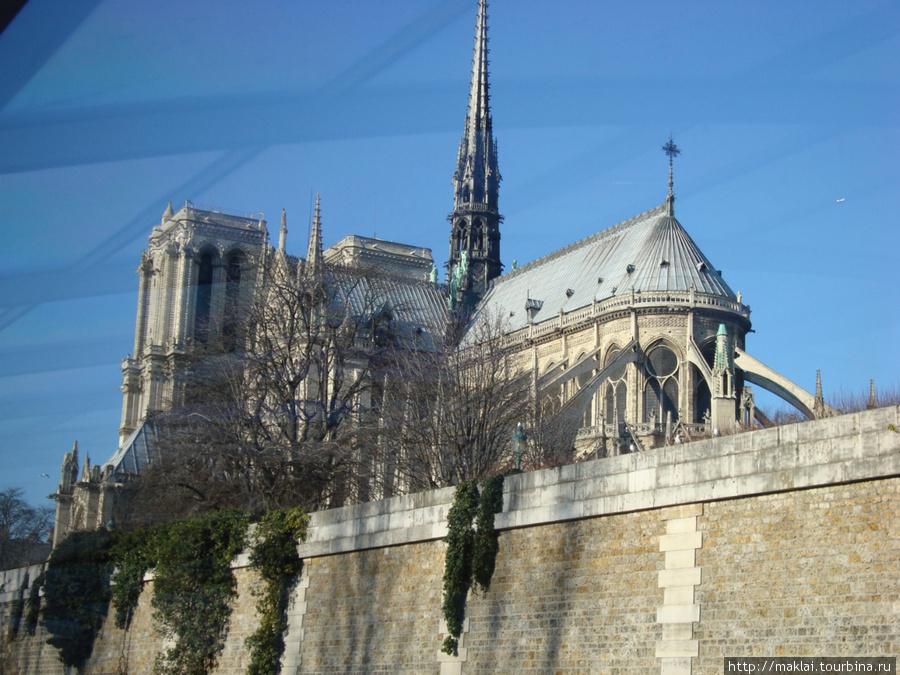Париж. Собор Парижской Бо