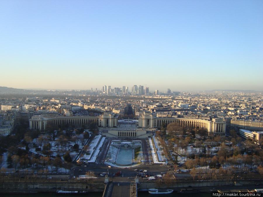 Париж. Марсово поле.