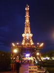 Маленький Париж в сиянии огней