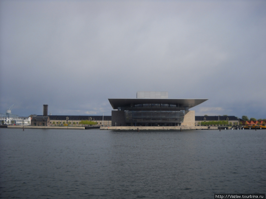 Одна из многочисленных набережных Копенгагена