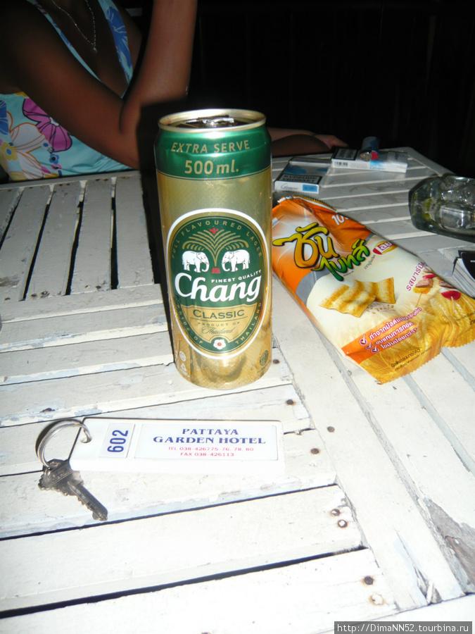 Самое популярное пиво в Таиланде
