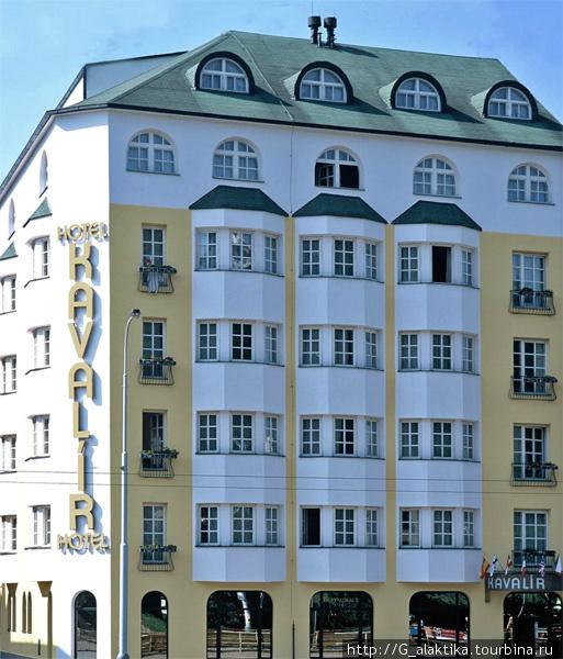 Вид отеля с наружи