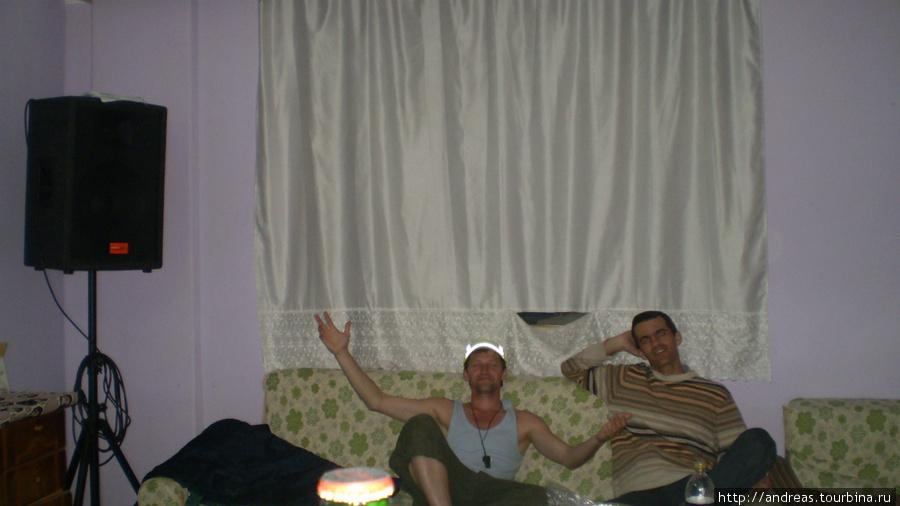 В общежитии села Аваз