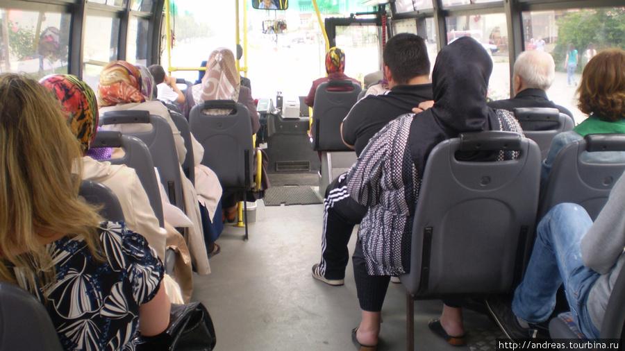 Городской автобус в Самсуне