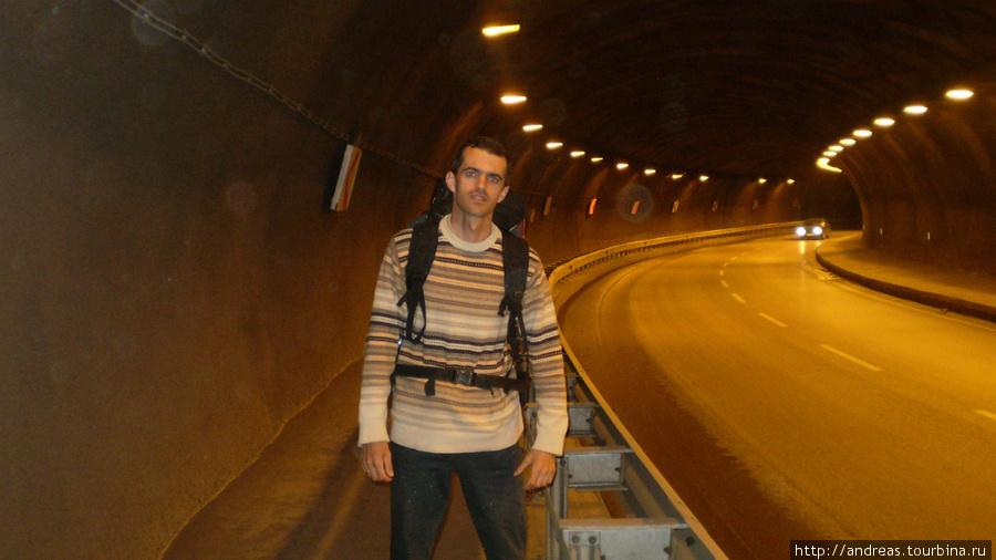 Тоннель в Трабзоне