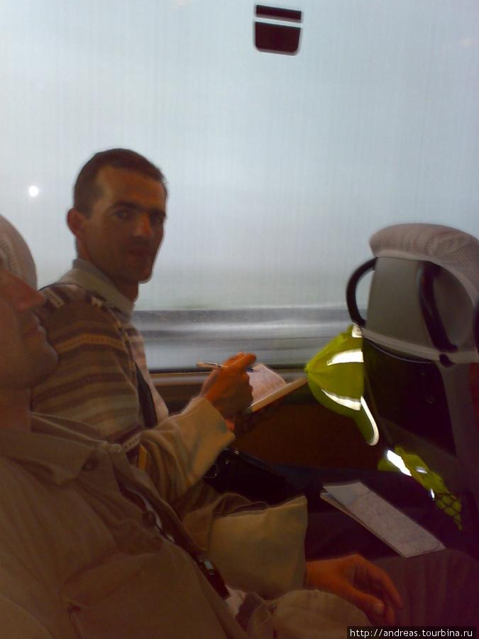 В автобусе на Батуми