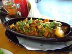Болгарская кухня. Свинина тушёная с овощами
