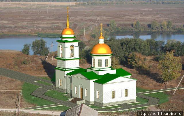 Проект реконструкции церкви