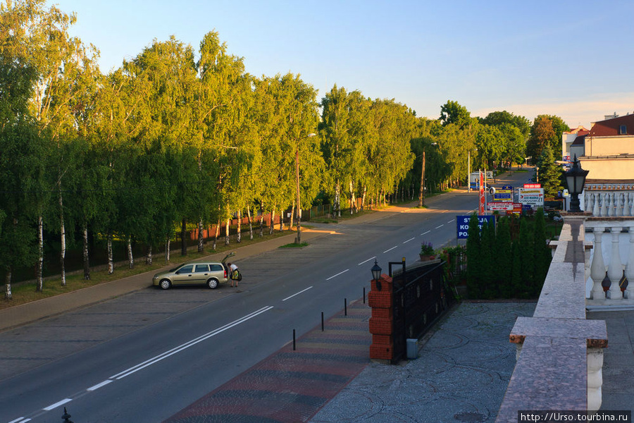 Вид с балкона отеля