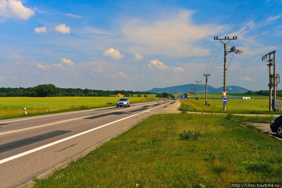 Чехия. До границы с Австрией — пара километров