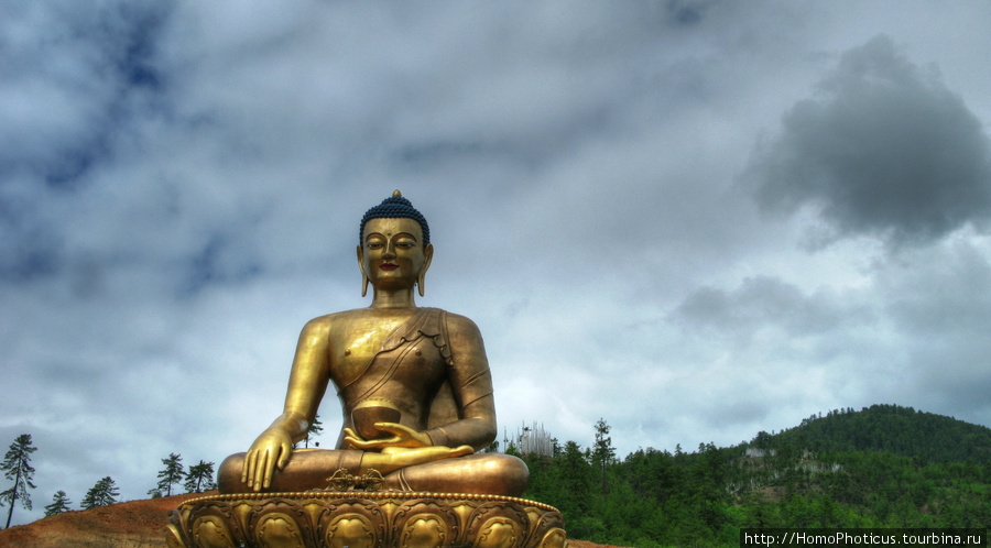 Будда над Тхимпху