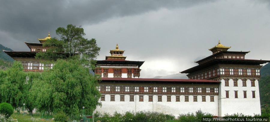 Тхимпху, дзонг Ташичхо