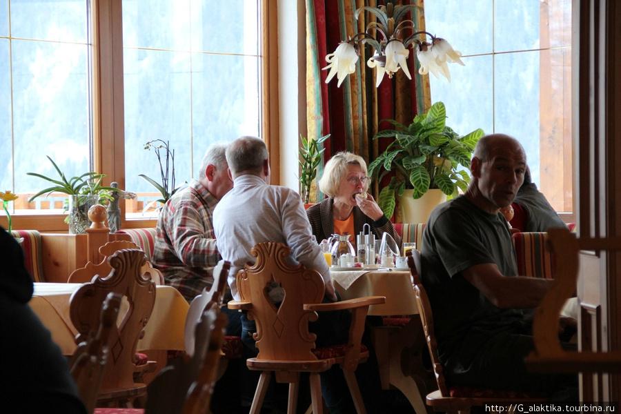 Завтрак австрийцев, или немцев, или швейцарцов.