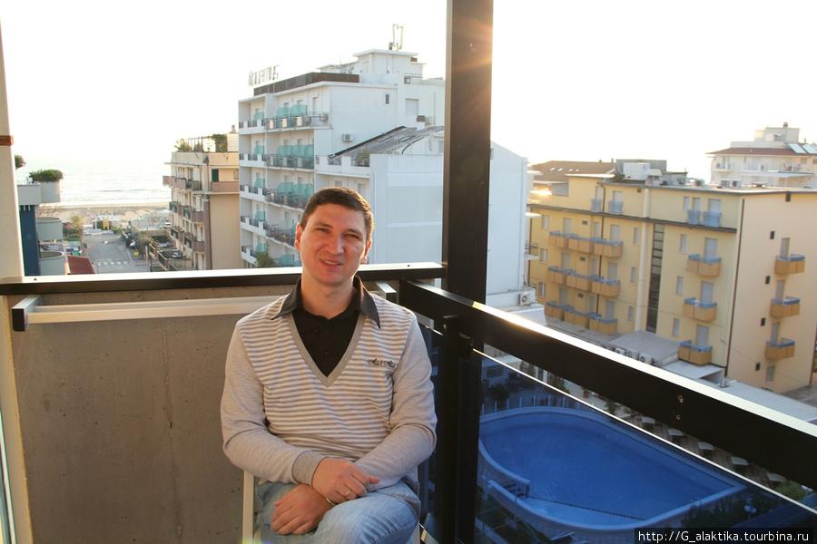 Двухместный номер, балкон