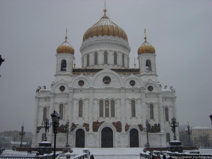 Москва. Храм Христа Спасителя.