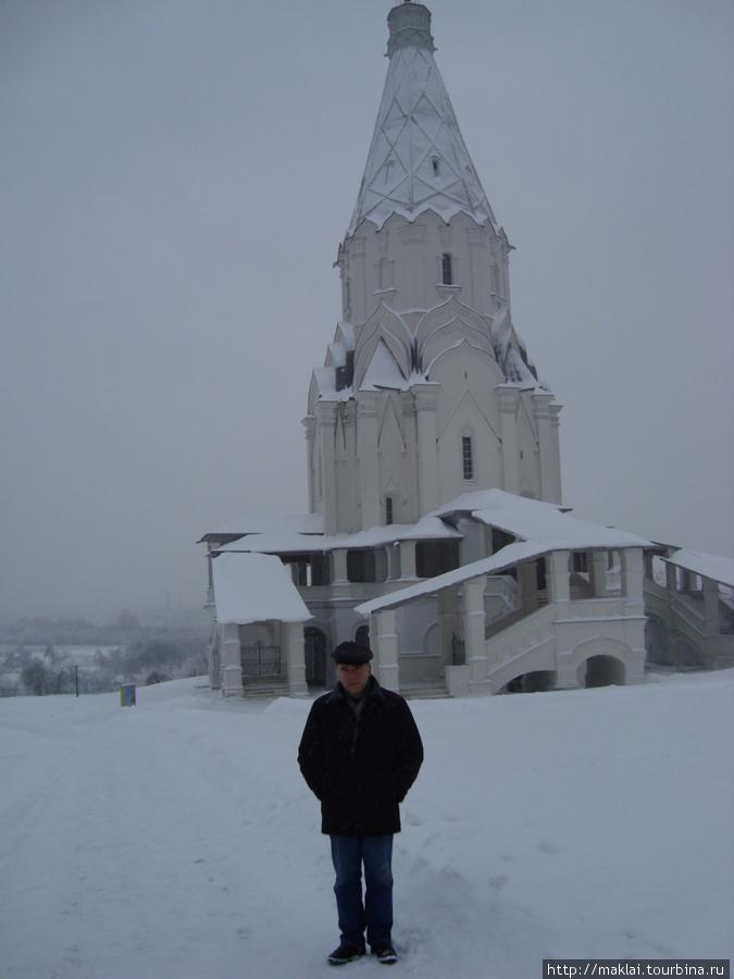 Москва. коломенское. Церковь Вознесения Господня.