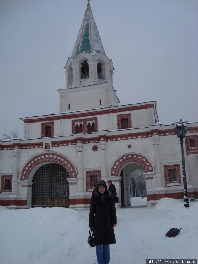 Москва. Коломенское. Дворцовые ворота.