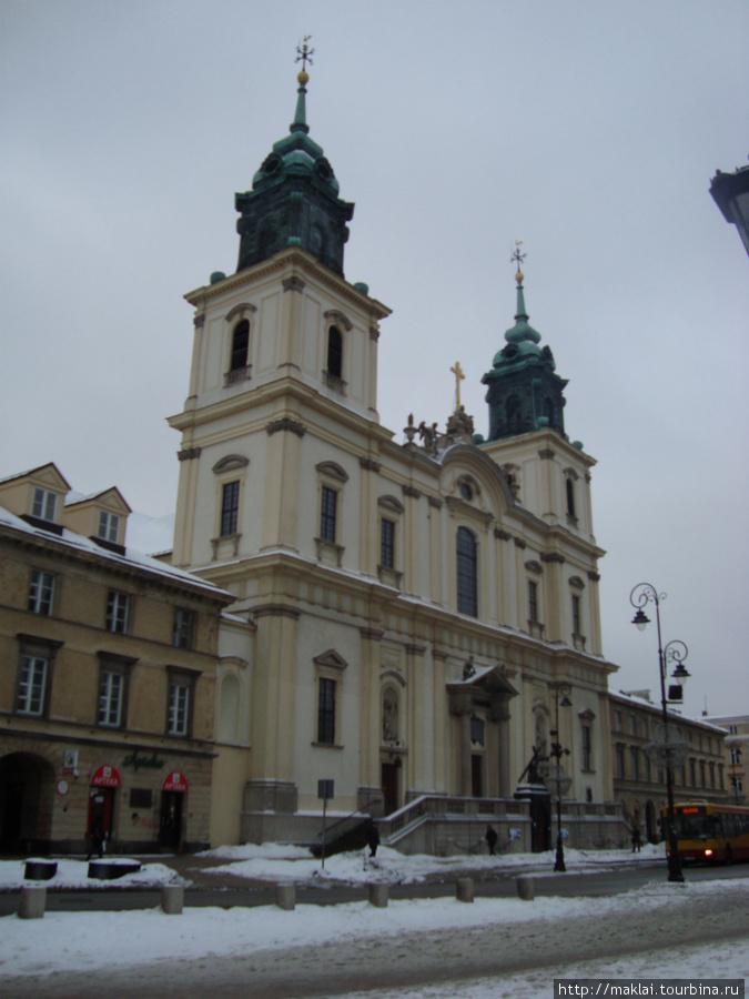 Варшава.Костёл Трёх крест