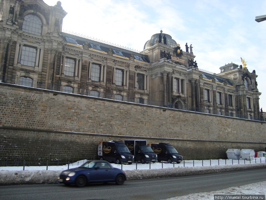 Дрезден. Здание Академии