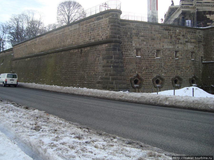 Дрезден. Бывшие казематы.