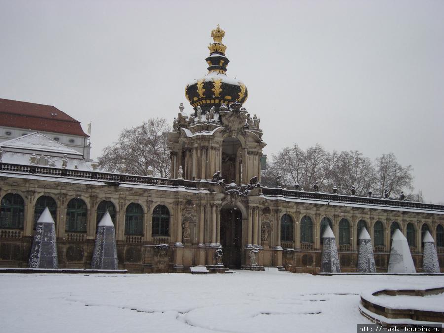 Дрезден. Дворец Цвингер.