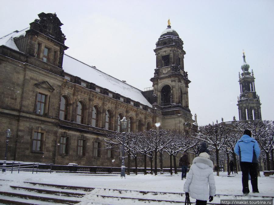 Дрезден. Брюлевская терраса.