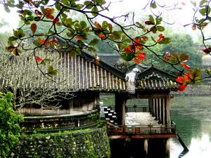 Великолепная гробница императора Ты Дыка расположена на холме Ванниен в деревне  Зыонг Сюан Тхыонг между зарослями красного жасмина и сосновой рощею в 6 км от Хюэ