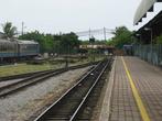 Платформа. Станция Тумпат. Неэлектрифицированная