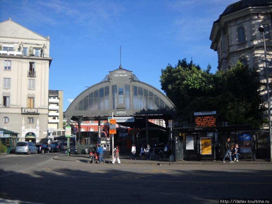 Вход на вокзал