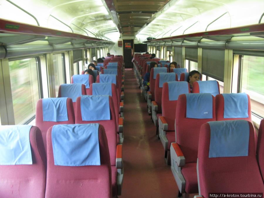 Сидячий вагон Тумпат, Малайзия