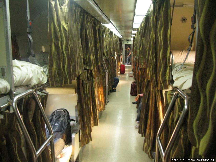 Плацкартный вагон Тумпат