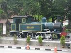 Мемориальный паровоз. Куала-Лумпур