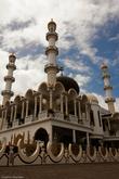 Мечеть красивая. Считается самой большой в Карибском регионе.
