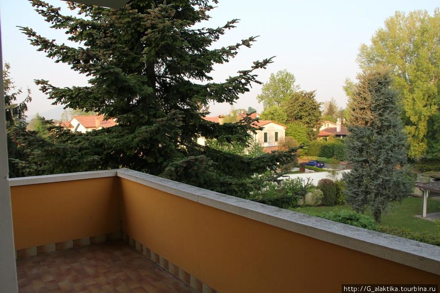 Двухместный номер, угловой балкон просто огромен