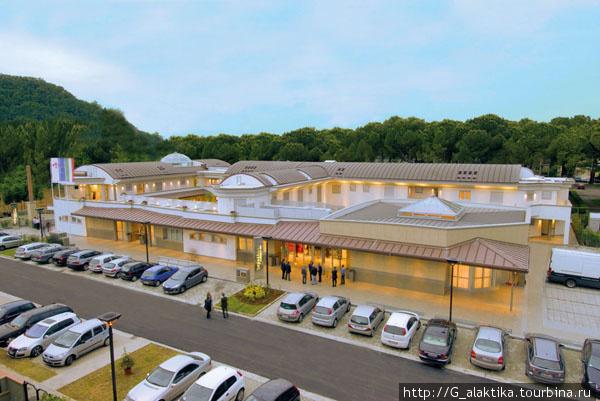 Внешний вид отеля, фото с сайта отеля.