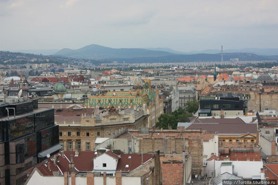 вид на Будапешт с колокол