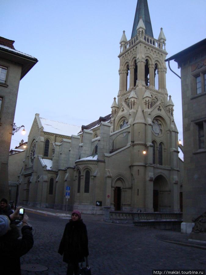 Берн. Собор Святого Петра.