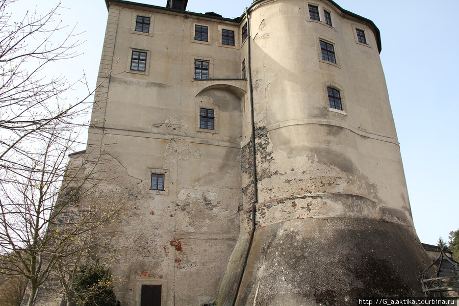 Внешний вид Замка  Штейнберг из внутреннего дворика