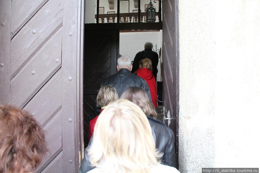 Входные ворота в Замок Штейнберг