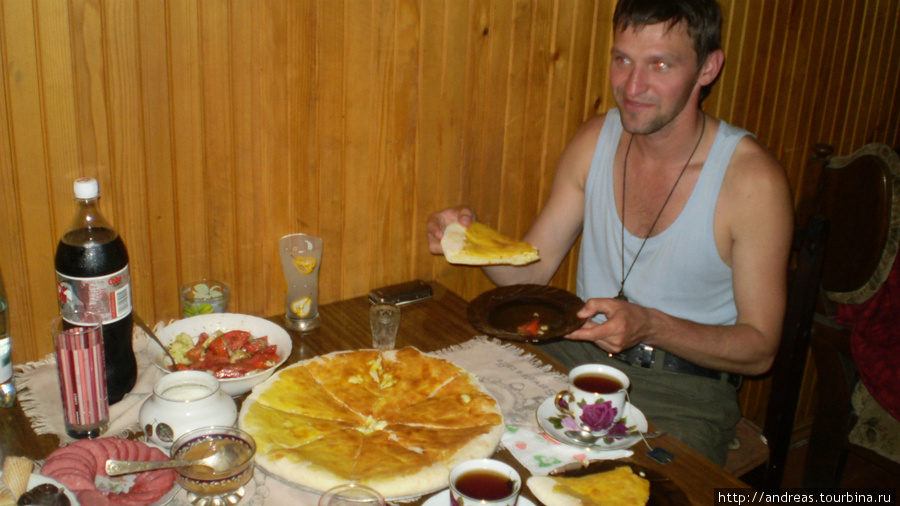 Хачапури и чача