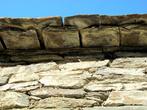 Каменная крыша.