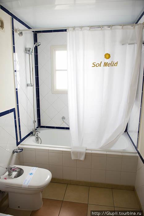 Во всех ванных комнатах есть биде.