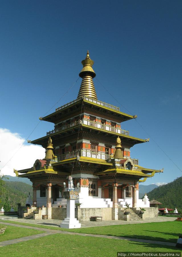 Монастырь Кхамсун Юллей Намгьял Чолинг