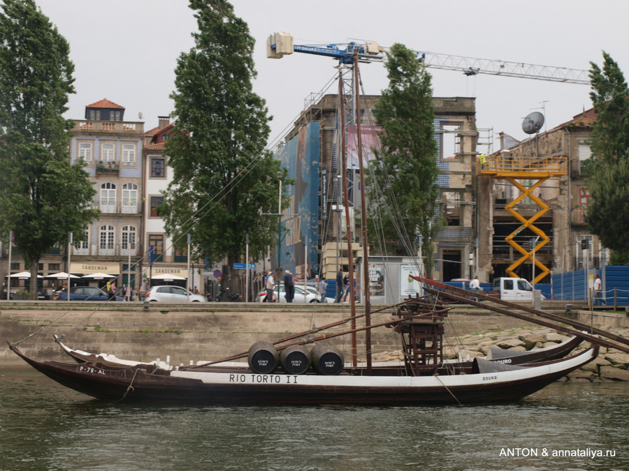 На таких лодках рабелу перевозили вино аж до 1964 года из долины реки Дору