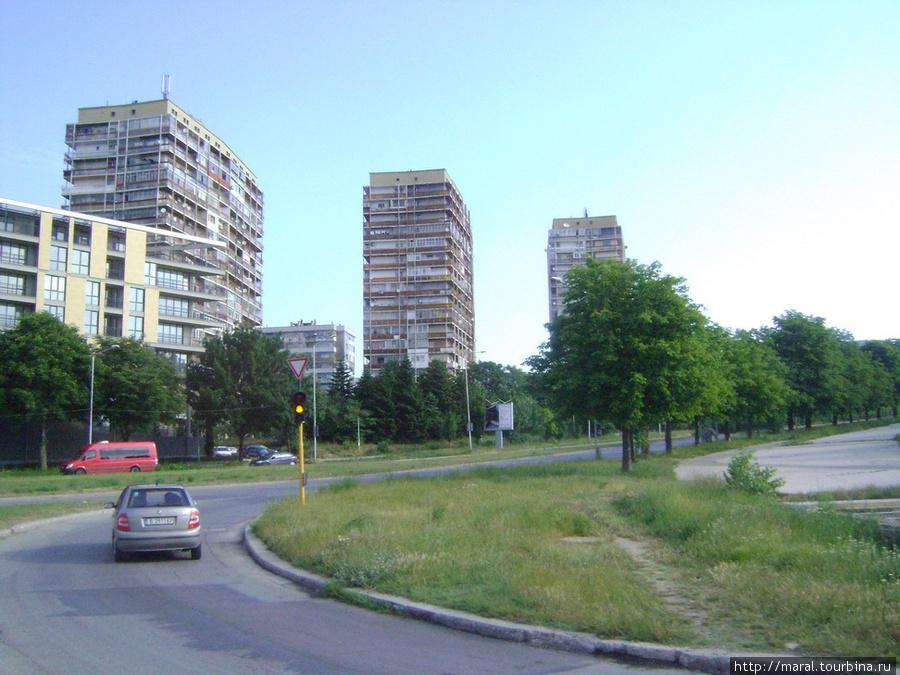 Городская окраина