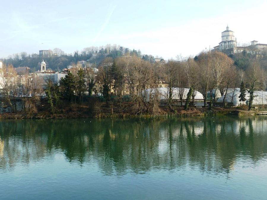 Вид реки По
