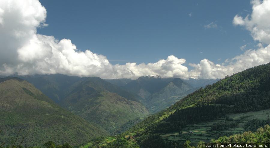 Пейзаж Вангдипходранга