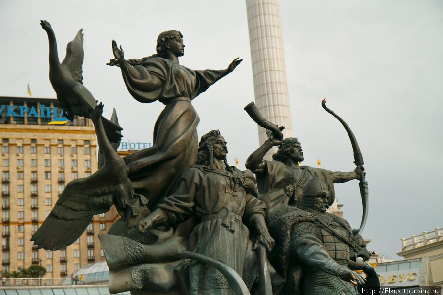 Большая прогулка по Киеву (Киев, Украина)